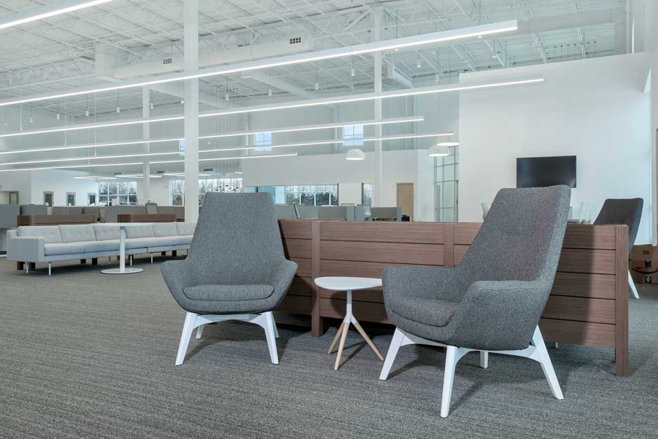 Heraeus Medical Lounge Area