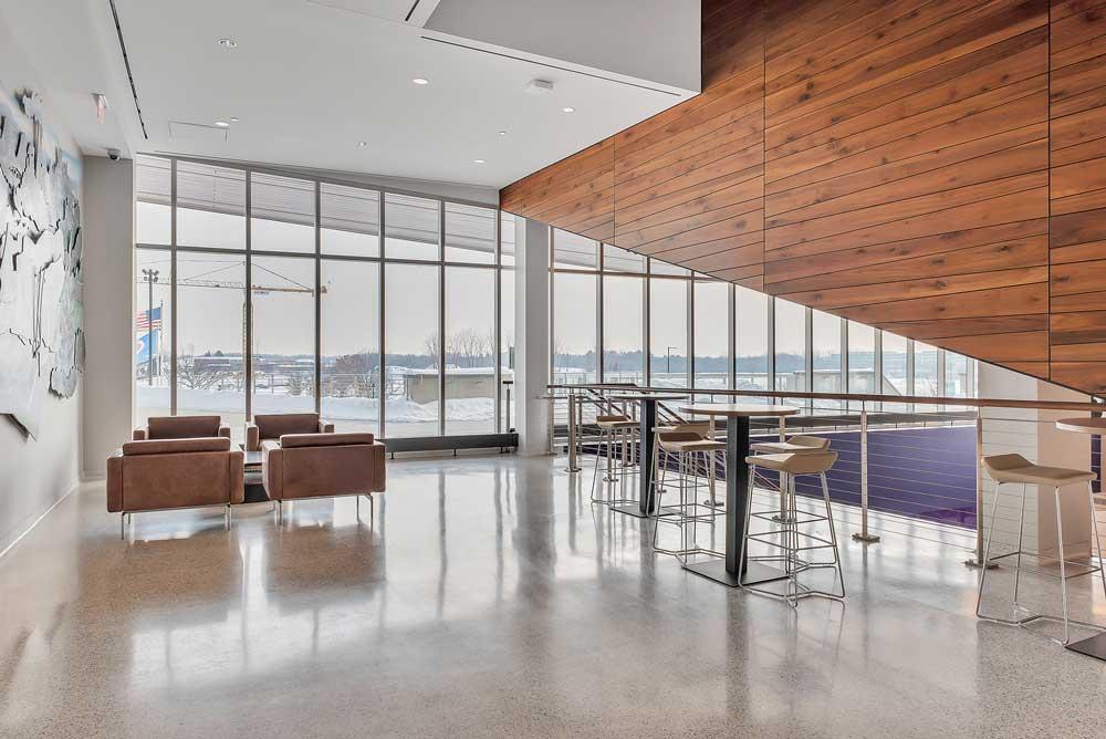 TCO Entry & Lounge Area