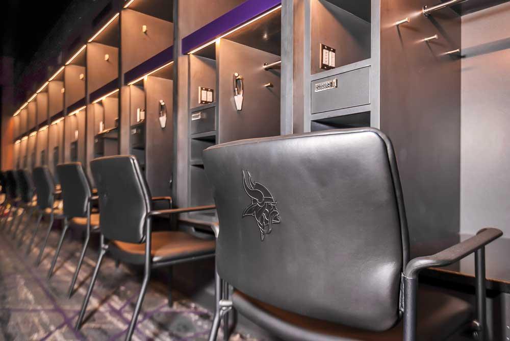 TCO Vikings Locker Room