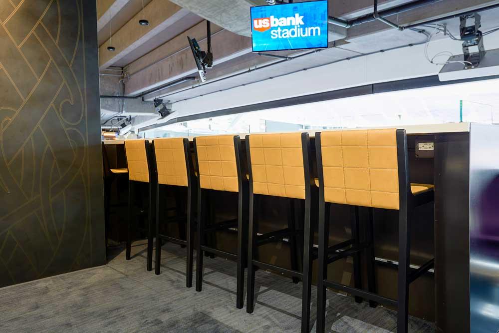 US Bank Stadium Cabin Club