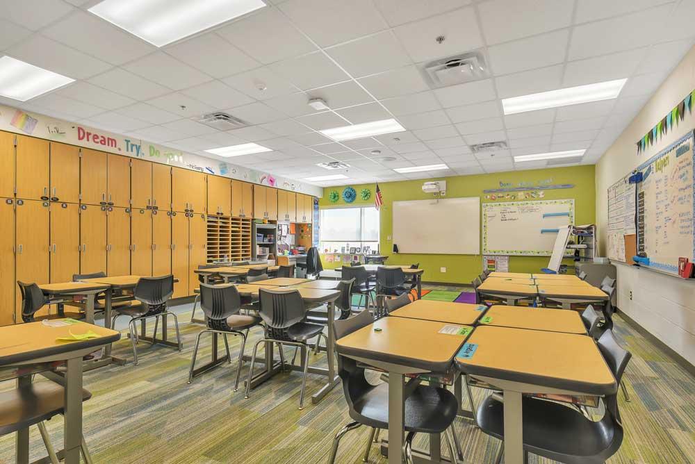 East Lake Elementary Classroom
