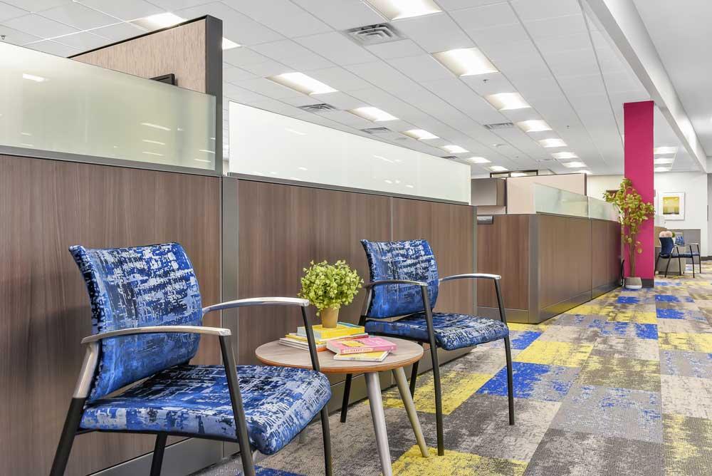 New Horizon Academy Lounge Area