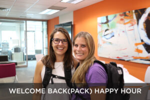 Welcome Back(pack) Happy Hour